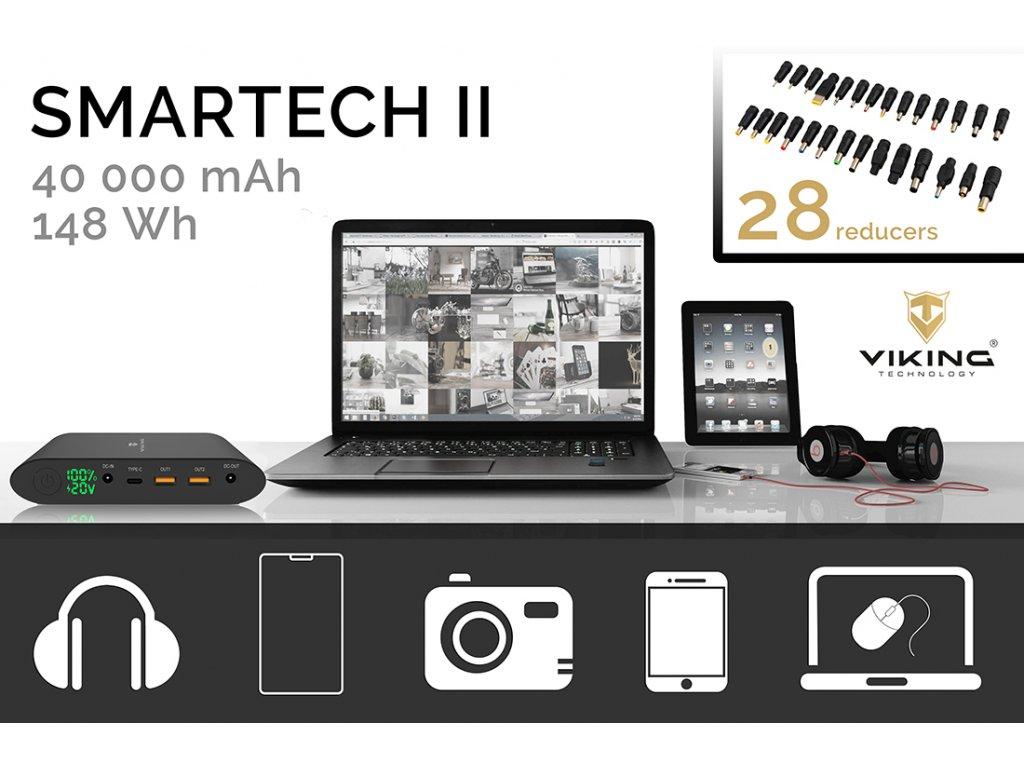 327cc64d06 Notebook powerbank Smartech II QC3.0 40000mAh + powerbanka zdarma EC ...