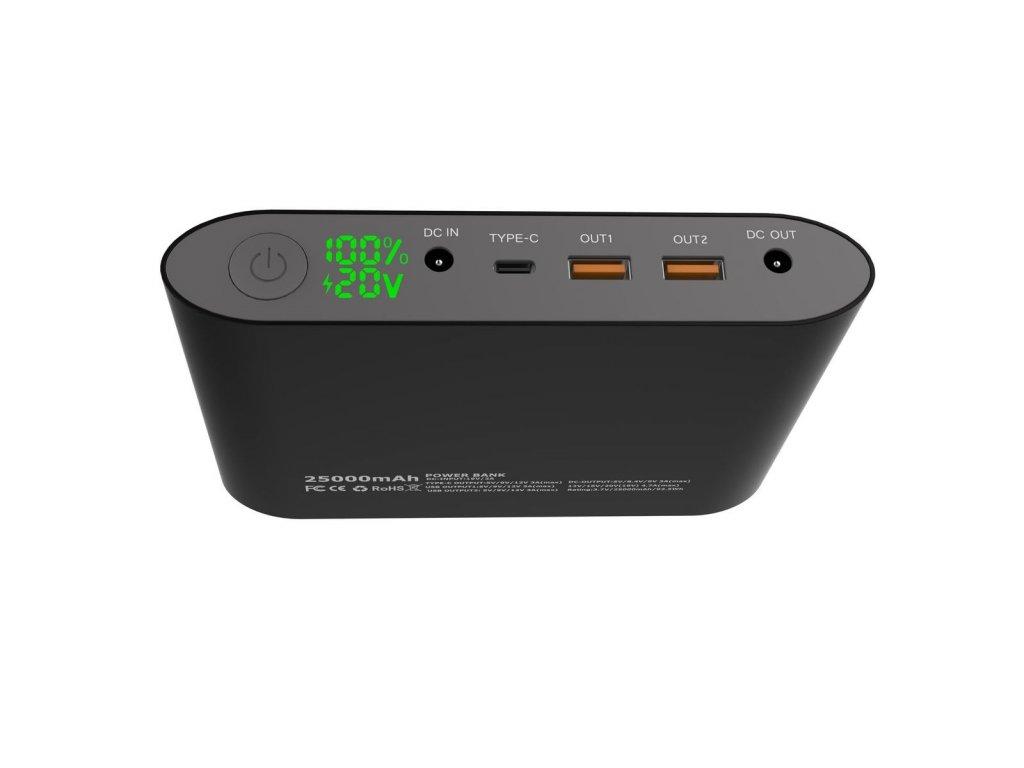 79c6a5576f ... Notebook power bank Smartech III QC3.0 25000mAh + powerbanka zdarma EC-PB001  2600mAh ...