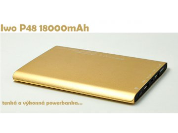 Power bank IWO P48 18000 mAh