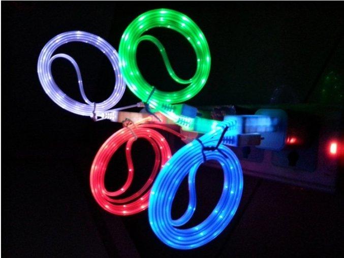 Svítící datový kabel HC-CC32 pro iPhone 4/4S/iPad2/3