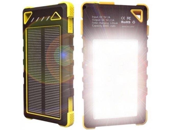 DOCA 8000mAh 2side light
