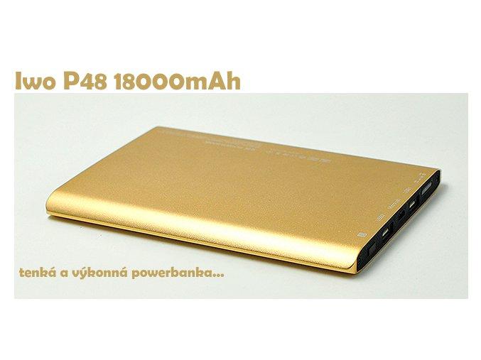 Power bank IWO P48 18000 mAh