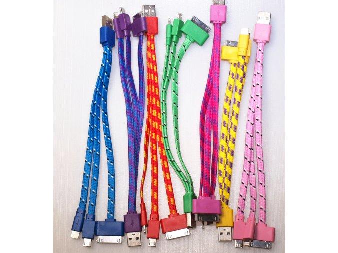 HC-CC30 multifunkční kabel 3in1